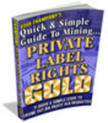Product picture *NEW!* Quick & Simple Guide To Mining Private Label Rights