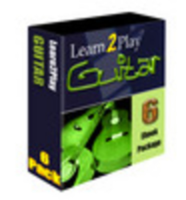 Product picture Learn to play guitar 6 ebooks - Download eBooks