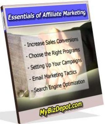 Product picture Essentials Of Affiliate Marketing Learn Affiliate Marketing